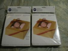 """3 Wilton """"Cupcake"""" Boxes Hold 4 Cupcakes+Candy+Cookies+Cake+Treats"""