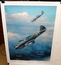 "WILLIAM S.PHILLIPS ""NEXT TIME GET'EM ALL"" HAND SIGNED LIMITED EDITION LITHOGRAPH"