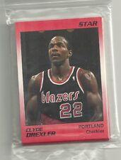 Clyde Drexler 1991 Star Company Portland Trailblazers 11-card Basketball Set