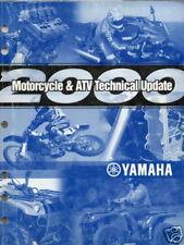 2000 Yamaha Motorcycle & Atv Technical Service Manual