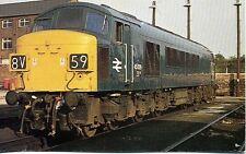 OPC Collectors postcard Class 45 Diesel locomotive 45029 Gloucester 1975