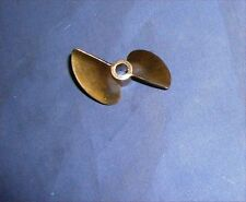 PROPELLER X438 BRONZE 4mm and 4.75mm bore brushless boat rc 38mm dog drive nitro