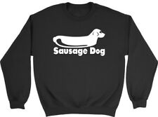 Sausage Dog Boys Girls Kids Childrens Sweatshirt