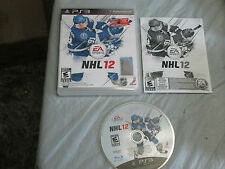 NHL 12 (PlayStation 3, PS3) complete