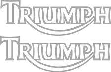 Triumph tank Vinyl stickers