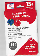 Vodafone Callya Smartpone International 2 GB + 200 Minuten/SMS