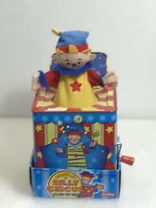 Schylling Silly Circus Jack in the Box Toy Jacknbox Toddler Child