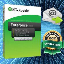 🔥QuickBooks Desktop Enterprise 2018 ⚡ 2019 edition⚡ Lifetime Key (10 Users)
