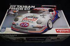 Rare Kyosho STP Taisan Porsche GT2 4WD Radio 1/10 Scale Car Plastic Model Kit