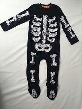 F&F Baby Boys Halloween Skeleton Outfit / Baby grow 6- 9 Months - New