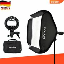 DE Godox 60x60cm faltbar Softbox mit S-Typ Bowens Blitzhalter Für AD200 TT685
