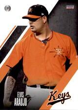 2018 Frederick Keys Choice #2 Elvis Araujo Maracaibo Venezuela VZ Baseball Card