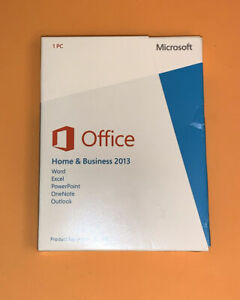 Microsoft Office Home and Business 2013 Product Key Card - MS Office License.