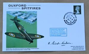 DUXFORD SPITFIRES 1988 COVER SIGNED BY AIR VICE MARSHALL HAROLD BIRD WILSON