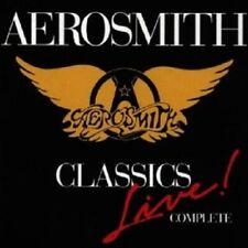 "AEROSMITH ""CLASSICS LIVE COMPLETE""  CD NEW!"