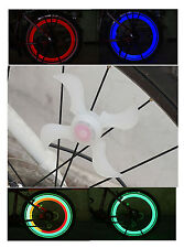 Led de vélo spoke roue lampe de sécurité vélo bicyclette bmx mountain bike sport
