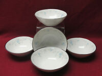 FIVE (5) NORITAKE China - SARITA Pattern # 7006 - FRUIT / DESSERT BOWLS