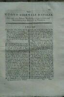 1790 NUOVO GIORNALE D'ITALIA: STUDIO FIUME BRENTA DI LIMENA; ULIVI IN DALMAZIA