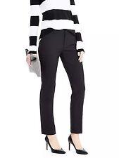 Banana Republic Ryan-Fit Lightweight Wool Pant, Black SIZE 10R 10 R #380475 v821