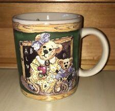 Boyds Bears Coffee Tea Mug Cup Teacher Appreciation Gift Collectible