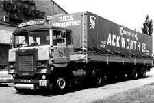 ROAD HAULAGE  TRANSPORT LORRY PHOTOGRAPH-SCAMMELL-ACKWORTH- XWT 632L