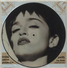 """Madonna Justify My Love 3 track Uk Limited Edition Picture Disc 12"""""""