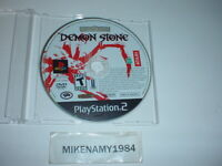 DEMON STONE game only in plain case - Sony Playstation 2 PS2