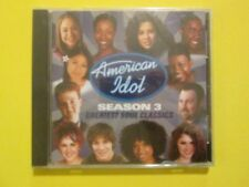 American Idol Season 3 Greatest Soul Classics Fantasia Jennifer Hudson NEW CD