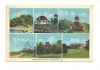 SCENES AROUND HALIFAX, NOVA SCOTIA, CANADA VINTAGE POSTCARD