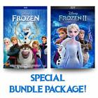 FROZEN 1 & FROZEN 2 DVD 2-Movie Collection - Brand New - Free Shipping