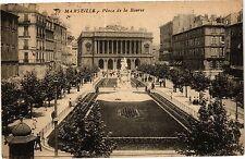 CPA Marseille-Place de la Bourse (186103)