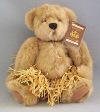 Bearfoot Hawaiian Collectibles Teddy Bear Mele Millennium Grass Skirt Lei 2000