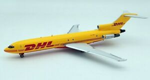 INFLIGHT IF722DH1219 1/200 DHL (TASMAN CARGO AIRLINES) B727-200F VH-DHE W/STAND