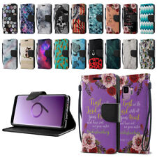 "For Samsung Galaxy S9 5.8"" ID Card Flip Leather Wallet Cover Pouch Case Stand"