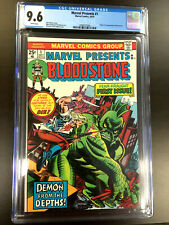 MARVEL PRESENTS #1 (1975 Series) CGC 9.6 NEAR MINT+ Bloodstone!!