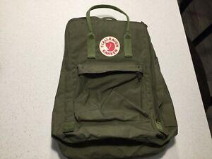 Fjallraven Kanken Backpack Olive Green