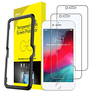 JETech Screen Protector for iPhone SE 2020, iPhone 8 iPhone 7 iPhone 6s iPhone 6