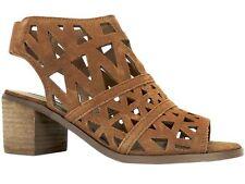 e4cbafcb1 Steve Madden Women s Estee Dress Sandal Cognac Suede 8 ...