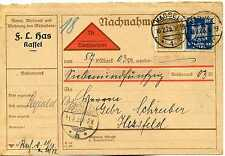 Henckels Solingen Kleinschmalkalden.th Ka066 Karte Deutsches Reich 1920 Paul A Briefmarken Diverse Philatelie