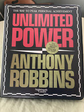 Unlimited Power Anthony Robbins Audio Cassette Tapes