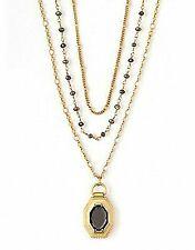 "Spartina 449 Jewelry Bronze 36"" Triple Layer Pendant Necklace 812714 R"