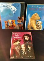 Lot of 3 Teddy Bear & Doll coffee table books – Gently Used