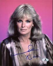 Linda Evans Dynasty Authentic Signed 8X10 Photo Autographed BAS #B03646