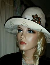 Felt Pillbox Hats for Women