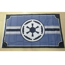 Star Wars Galactic Empire Flag Banner Gray 3'x5' Polyester Fans Gift Home Decor