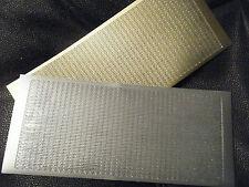 2 sheets Peel off Boarders 1 Silver & 1 Gold
