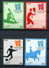 JORDANIEN JORDAN 2012 Olympiade London Olympics 2177-80 ** MNH