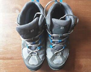 Mens size 10 salomon contragrip walking boots