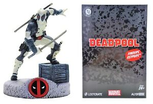 Deadpool Finders Keypers Statue Figure w/ Keychain (Loot Crate DX Exclusive) NEW