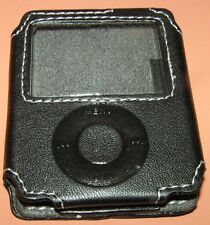 Speck TechStyle-Classic real leather case for iPod nano 3G with screen protector